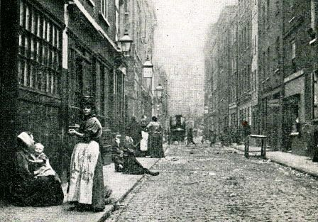 A photo of Dorset Street looking west in 1901.