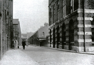 Durward Street as it was in 1930.