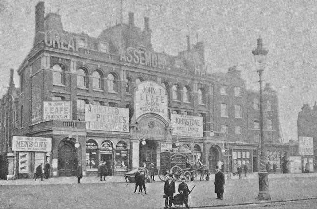 The Great Assembly Hall, Mile End.