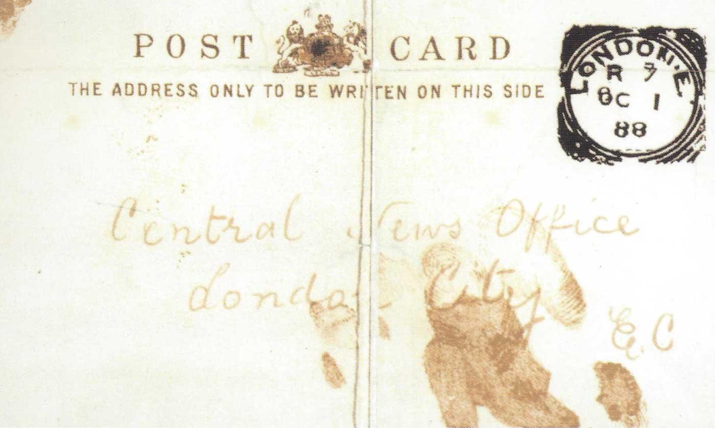 The Dear Boss Jack The Ripper Letter