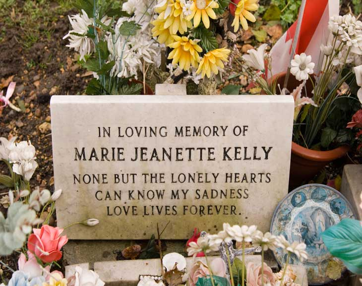 Mary Kelly's Grave
