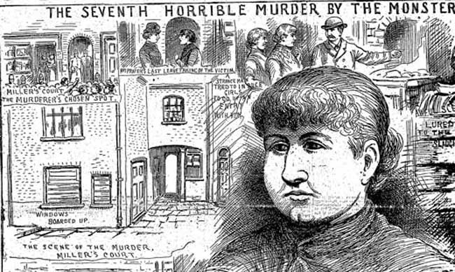 The Illustrated Police News article on the murder of Mary Kelly.