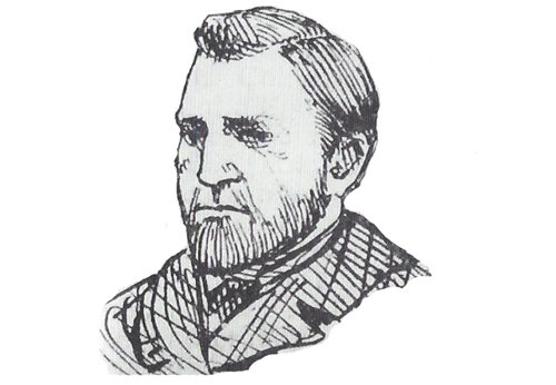 A portrait of Superintendent Thomas Arnold.