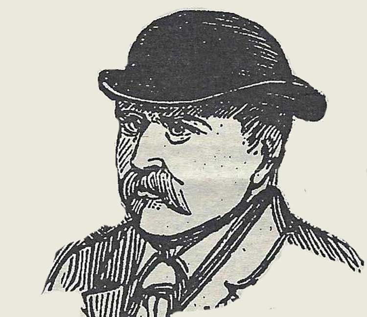 A portrait of Detective Thick at the time of the Jack the Ripper murders.