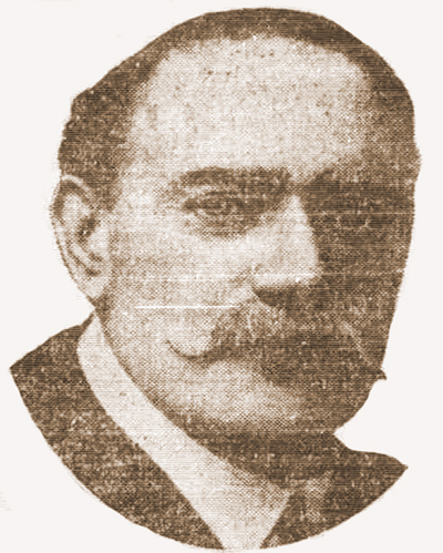 A photograph of Melville Macnaghten.