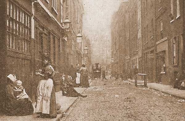 A photograph of Dorset Street.