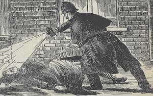 PC Watkins finds the body of Catherine Eddowes.