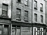 Exterior view of 29 Hanbury Street in the 1960's