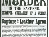 The Capture Leather Apron suspect poster