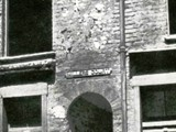 The entrance to Miller's Court where Mary Kelly lived