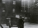 Mitre Square, scene of the murder of Catherine Eddowes, looking west, 1928.